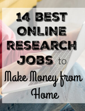 14 online research jobs to make money from home