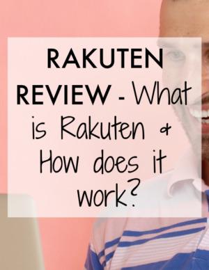 rakuten review - how does it work