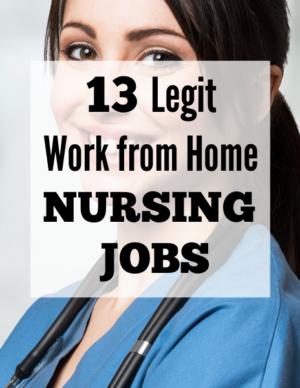 13 legit work from home nursing jobs