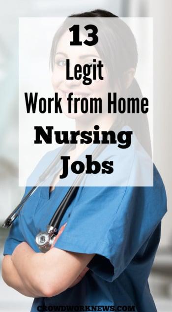 work from home nursing jobs