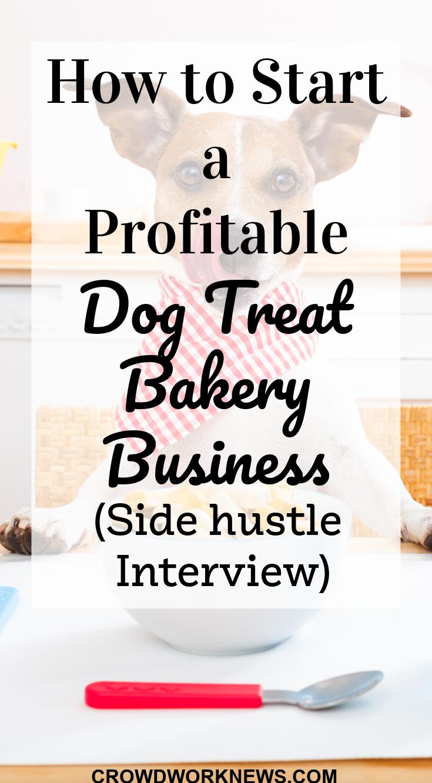 dog treat bakery business