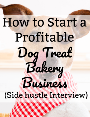 how to start a dog treat bakery business