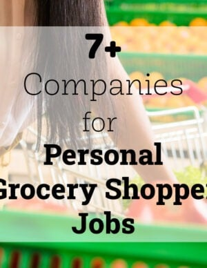 companies for personal shopper jobs