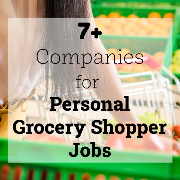 companies for personal shopper jobs