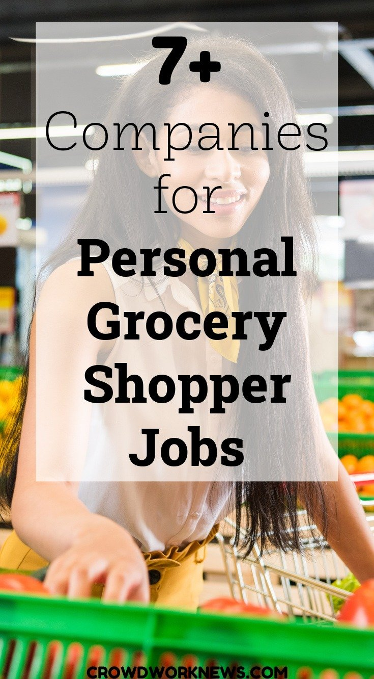 personal grocery shopper jobs